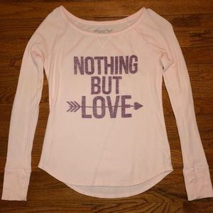 """American Eagle """"Nothing But Love"""" Thermal"""